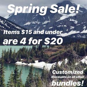 Other - Spring Bundle Sale! Read for Details!